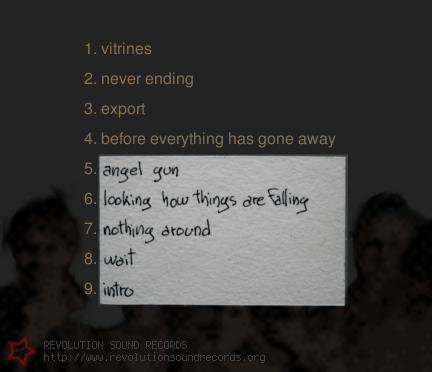 dead joshua - something around - titres